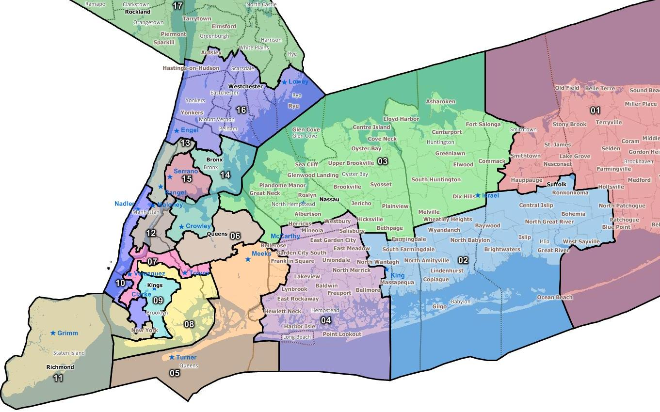 September The Roots Of The Equation - Map of ny districts for us congress